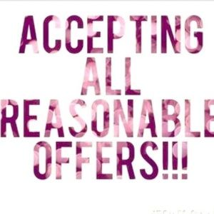 Other - Accepting All Reasonable Offers 💝